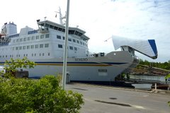 Le port de Grisslehamn