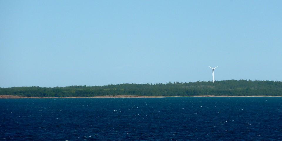 Wind power plant in Eckerö