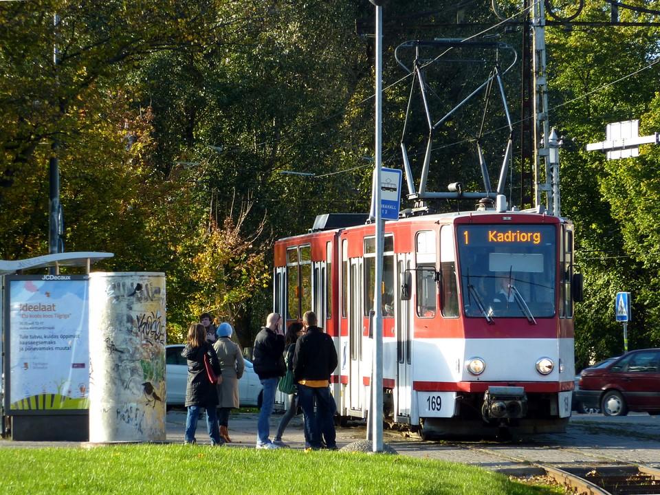 Linnahall tramway stop