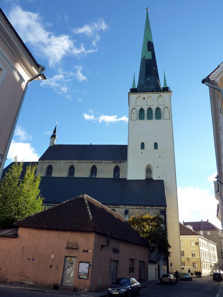 St. Olaf's Church and Old Town