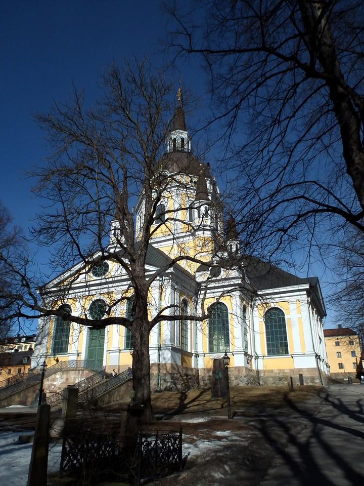 Katarina Church and cemetery