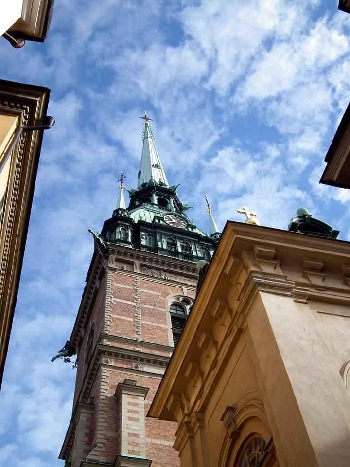 Tyska kyrkan et Storkyrkan