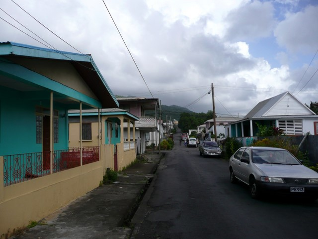 Street and houses