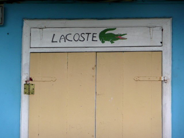 Lacoste-kauppa