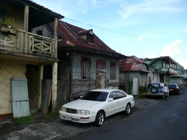 Maisons délabrées