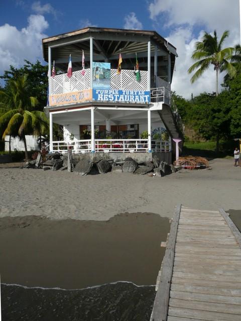Purple Turtle Beach Restaurant