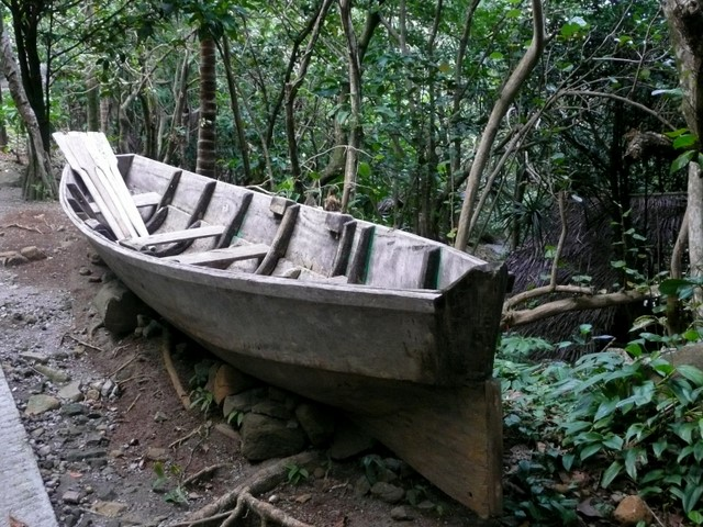 Canoe - Carib Cultural Village, Dominica