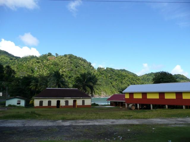 Koulun rakennuksia