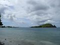 Tombolo and peninsula