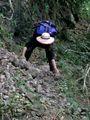 Mari ramasse pierres