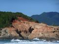 Red cliffs
