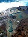 Bassins d'eau de mer