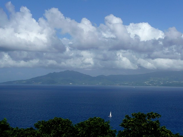 View to Guadeloupe