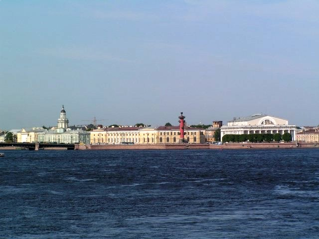 Vasily Island and Neva