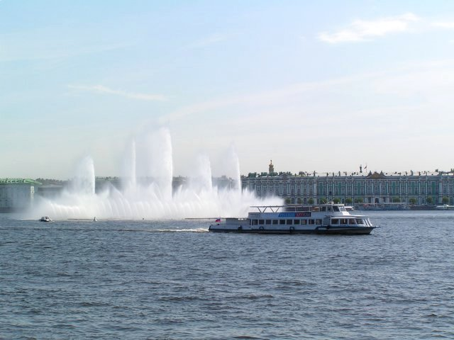 Fountains in Neva