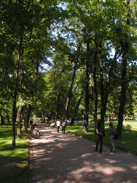 Park alley