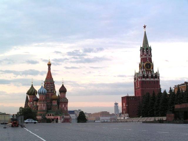 Saint Basil's Cathedral and Spasskaya Tower