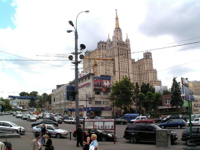Immeuble d'habitation sur la place Koudrinskaïa