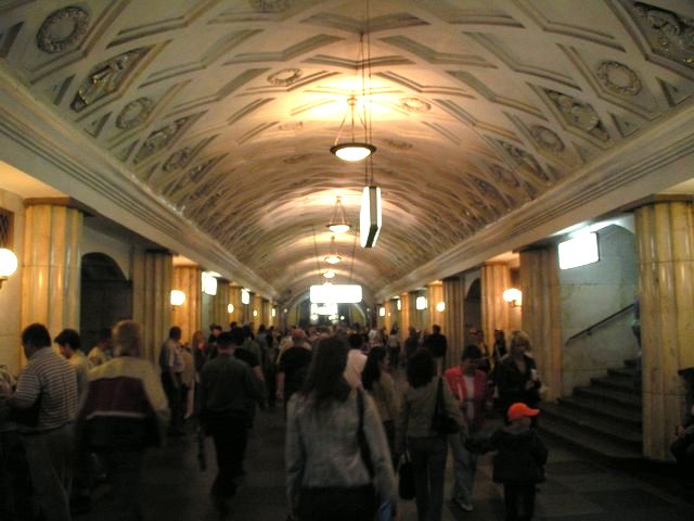 Metroaseman käytävä
