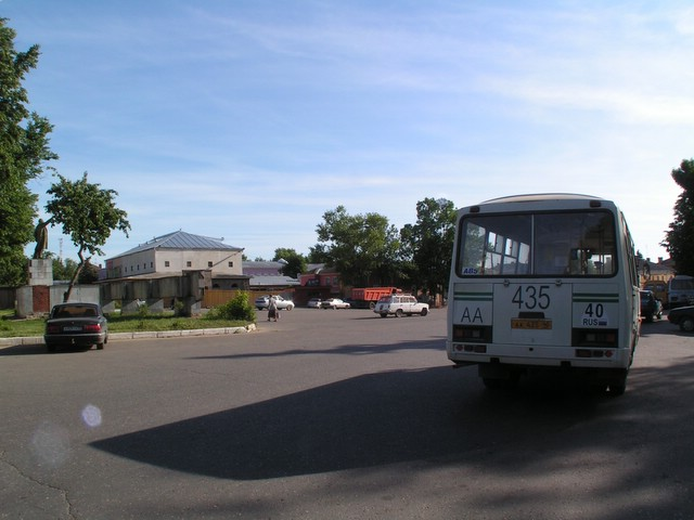 Bus in Borovsk