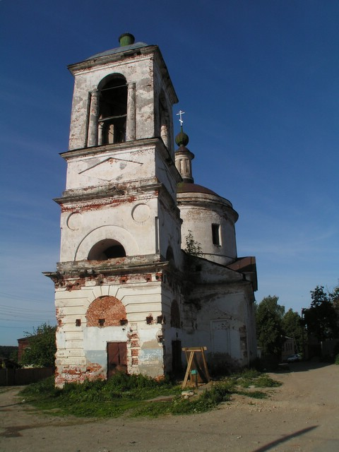 Decayed church
