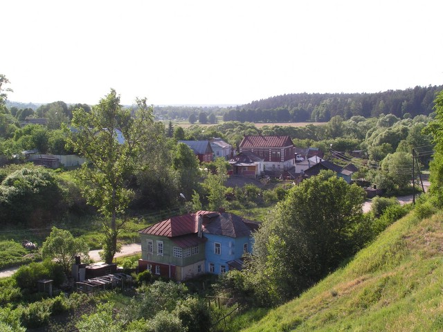 Lower parts of the town