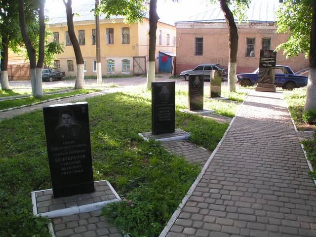 Soldiers' graves