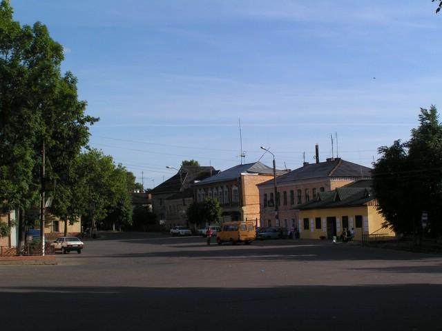 Central square of Borovsk