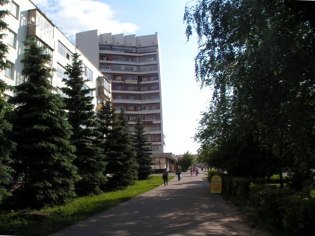 Pedestrian alley