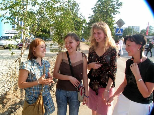 Hanne, Ekaterina ja kaverit