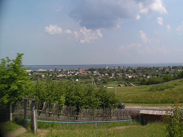 View to River Volga