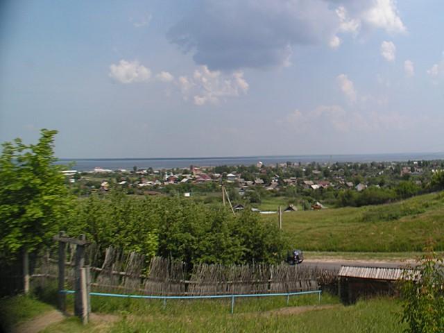 Näkymä Volgalle
