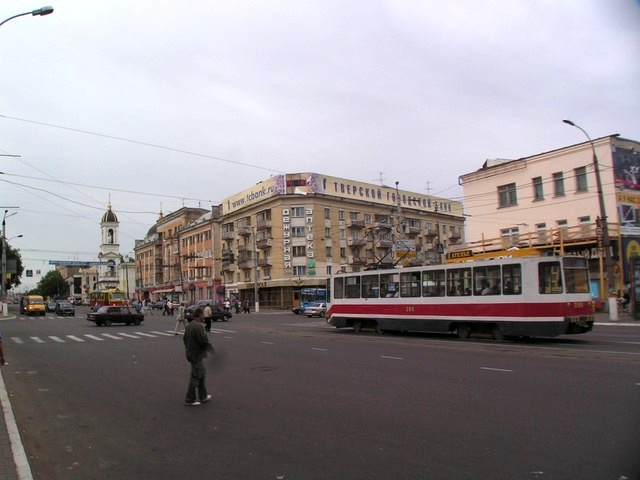 Tramway at Tverskoi