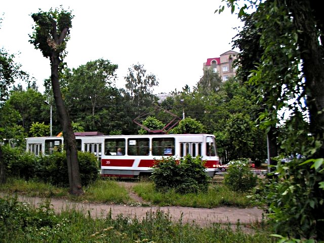 Tramway in the park