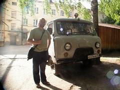 Minä ja pakettiauto