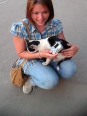 Hanne ja kissa