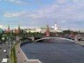 Moskva river and Kremlin