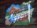 Peinture murale en bois