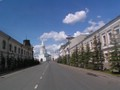 Kremlevskaya street and the Kremlin