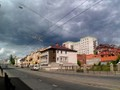Clouds on Pushkin street