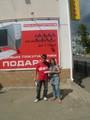 Vendeur tatar et Hanne