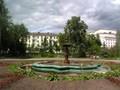 Suihkulähde Leninin puistossa