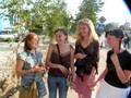 Hanne, Ekaterina & les amies