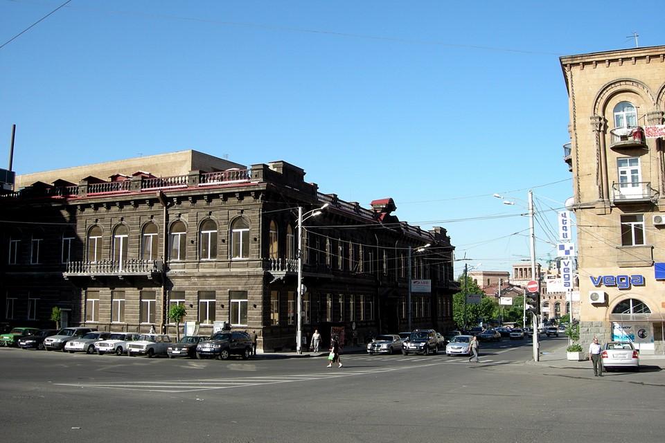 Une vue d'Erevan