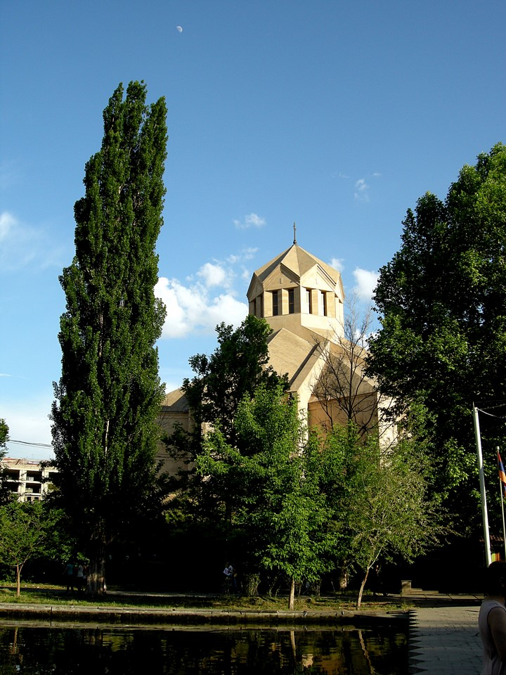 The Cathedral as seen from the park
