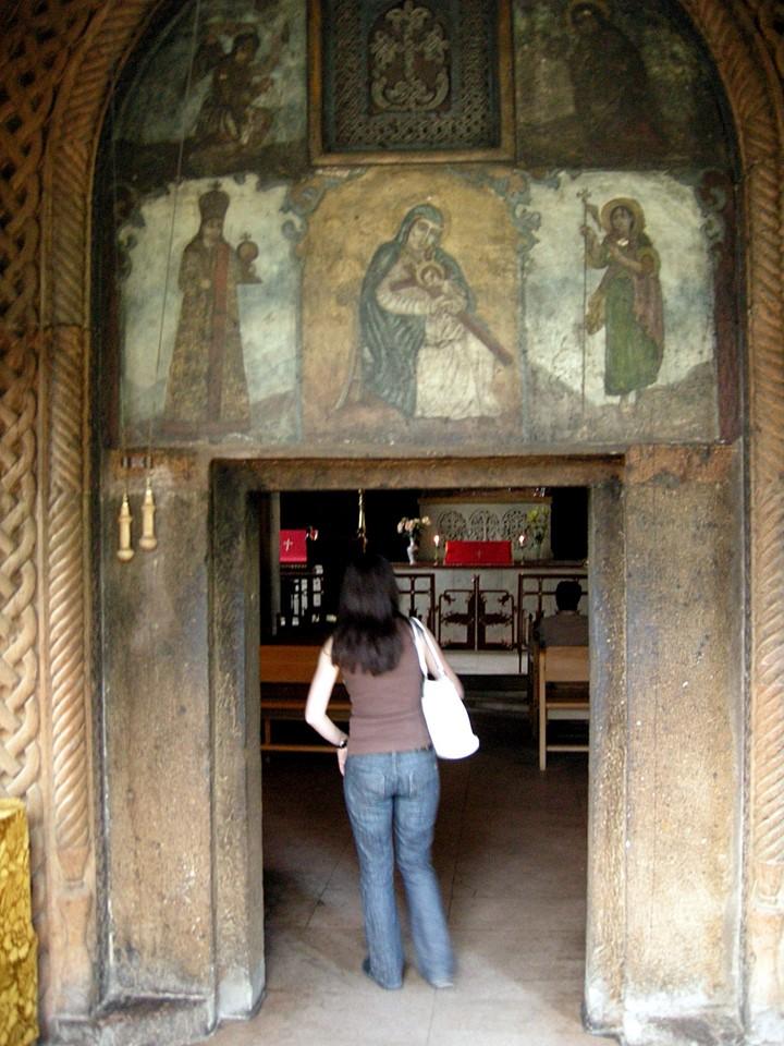 Entrance to Surp Zoravor Church