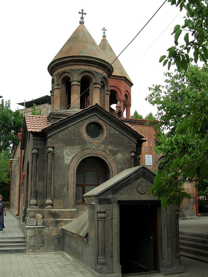 Entrance to the Chapel of Saint Ananias