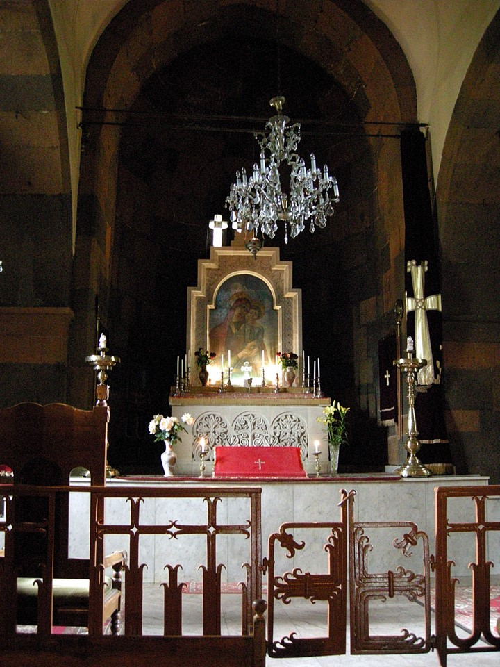 Altar in the Zoravor Church