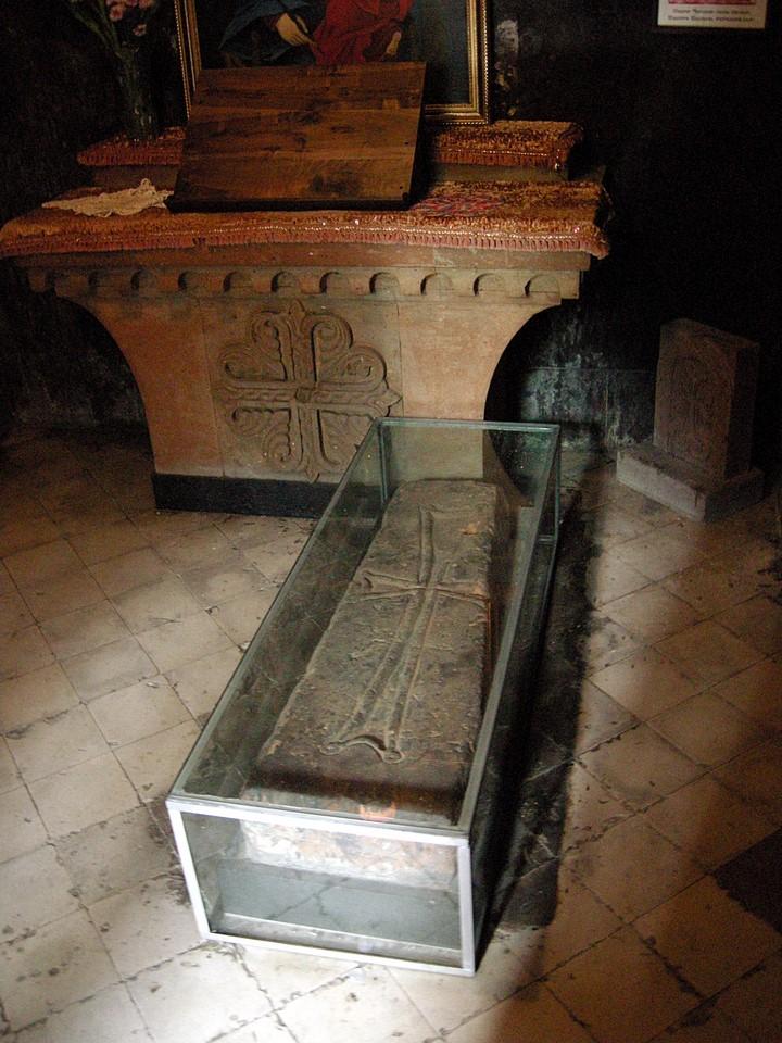 Tombstone of Saint Ananias