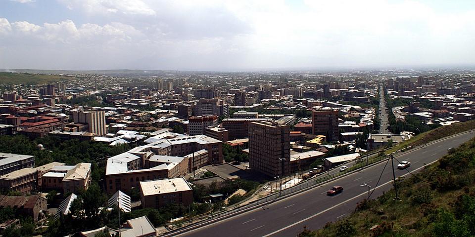 Jerevanin panoraama